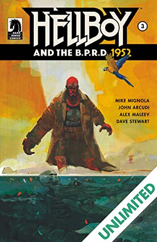 Hellboy and the B.P.R.D.: 1952 #3