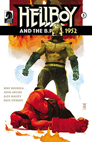 Hellboy and the B.P.R.D.: 1952 No.5