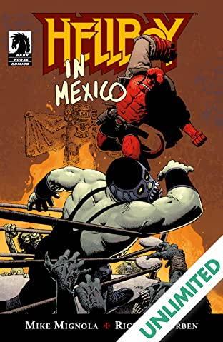 Hellboy in Mexico