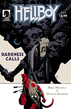 Hellboy: Darkness Calls #4