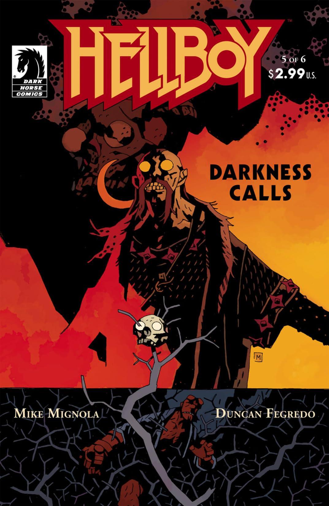 Hellboy: Darkness Calls #5