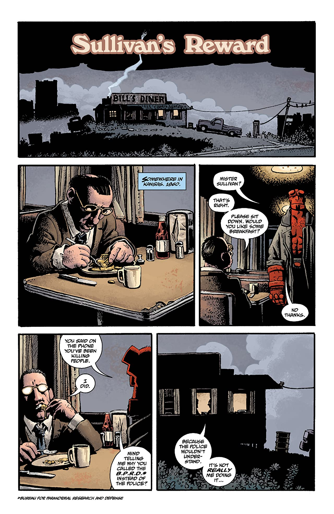 Hellboy: Double Feature of Evil #6