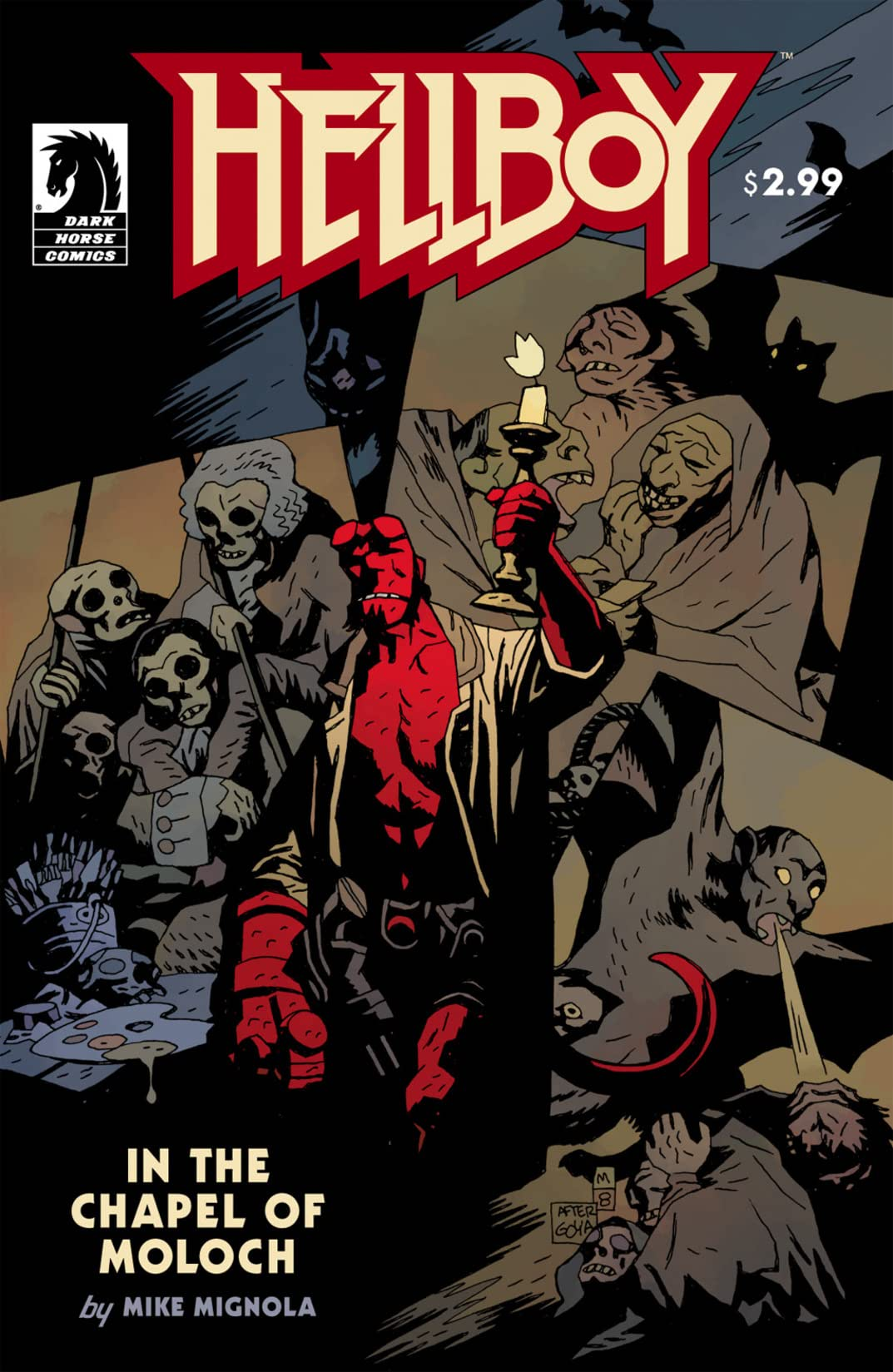 Hellboy: In the Chapel of Moloch #4