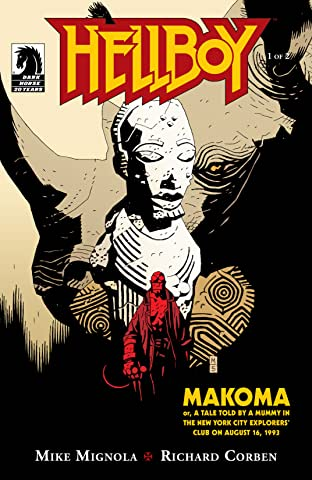 Hellboy: Makoma No.1