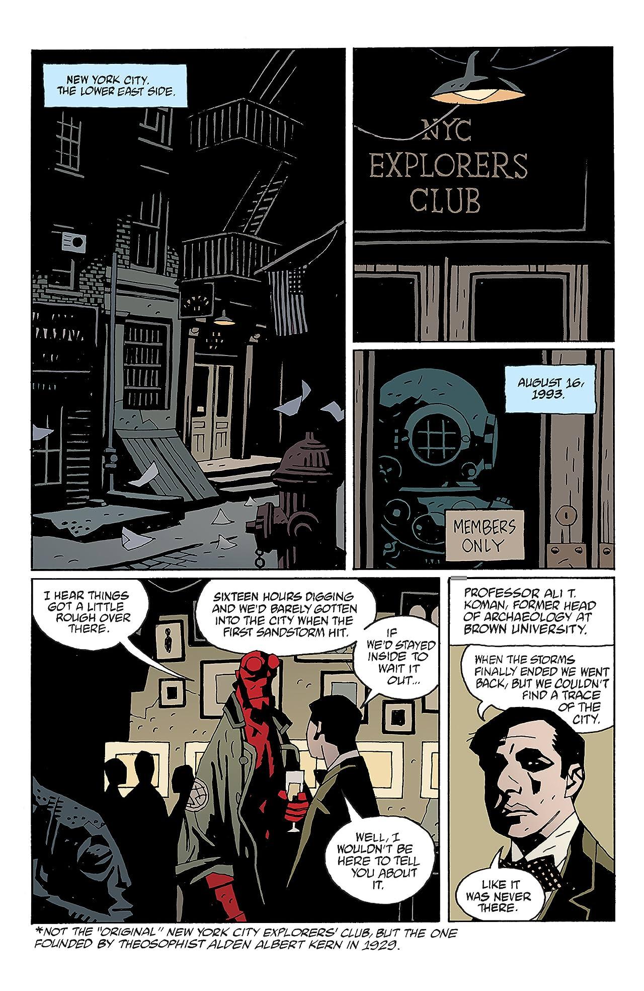 Hellboy: Makoma #1