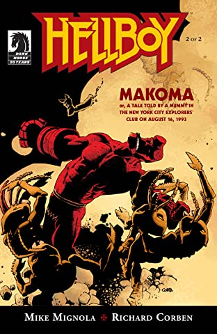 Hellboy: Makoma No.2