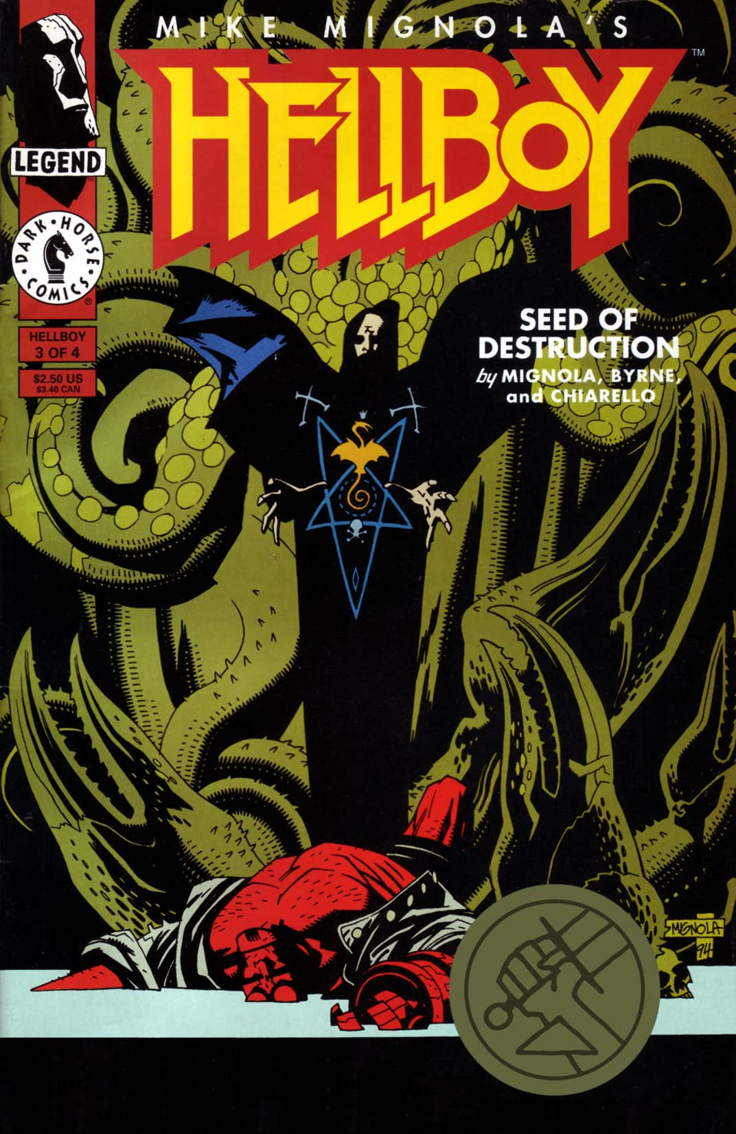 Hellboy: Seed of Destruction #3