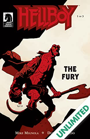 Hellboy: The Fury #1