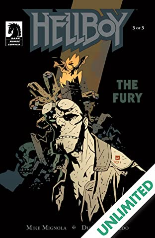 Hellboy: The Fury #3
