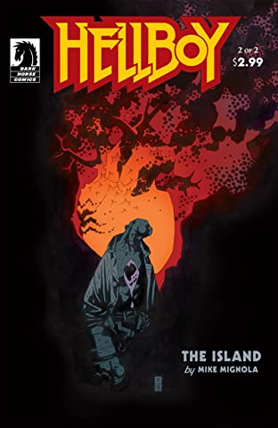 Hellboy No.4: The Island Part 2