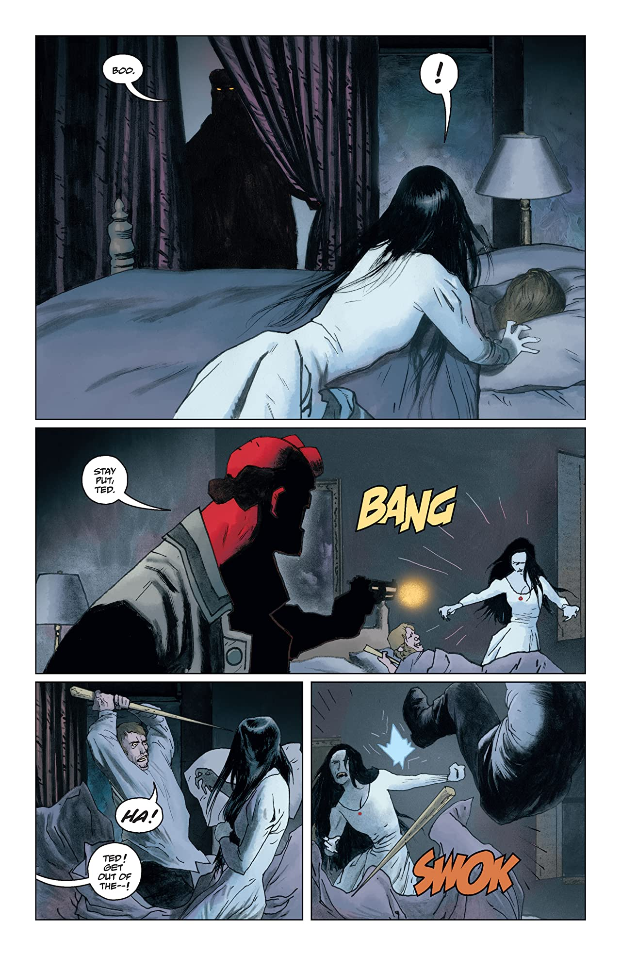 Hellboy: The Sleeping and the Dead #1