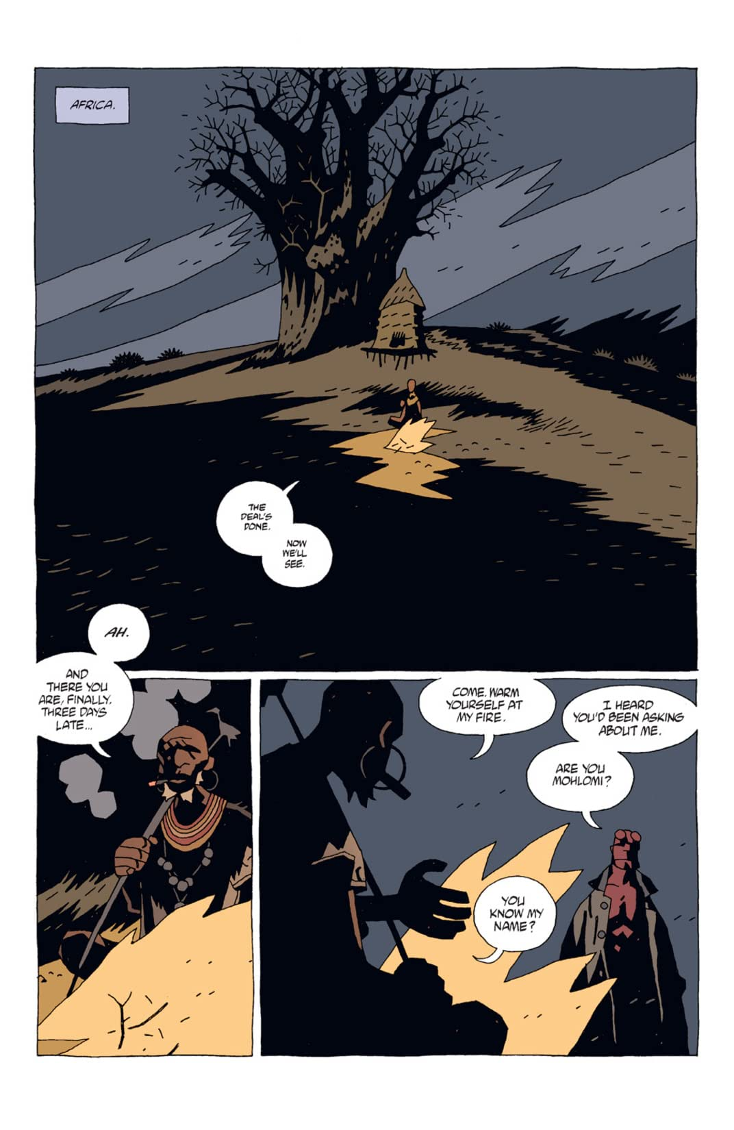 Hellboy: The Third Wish #1