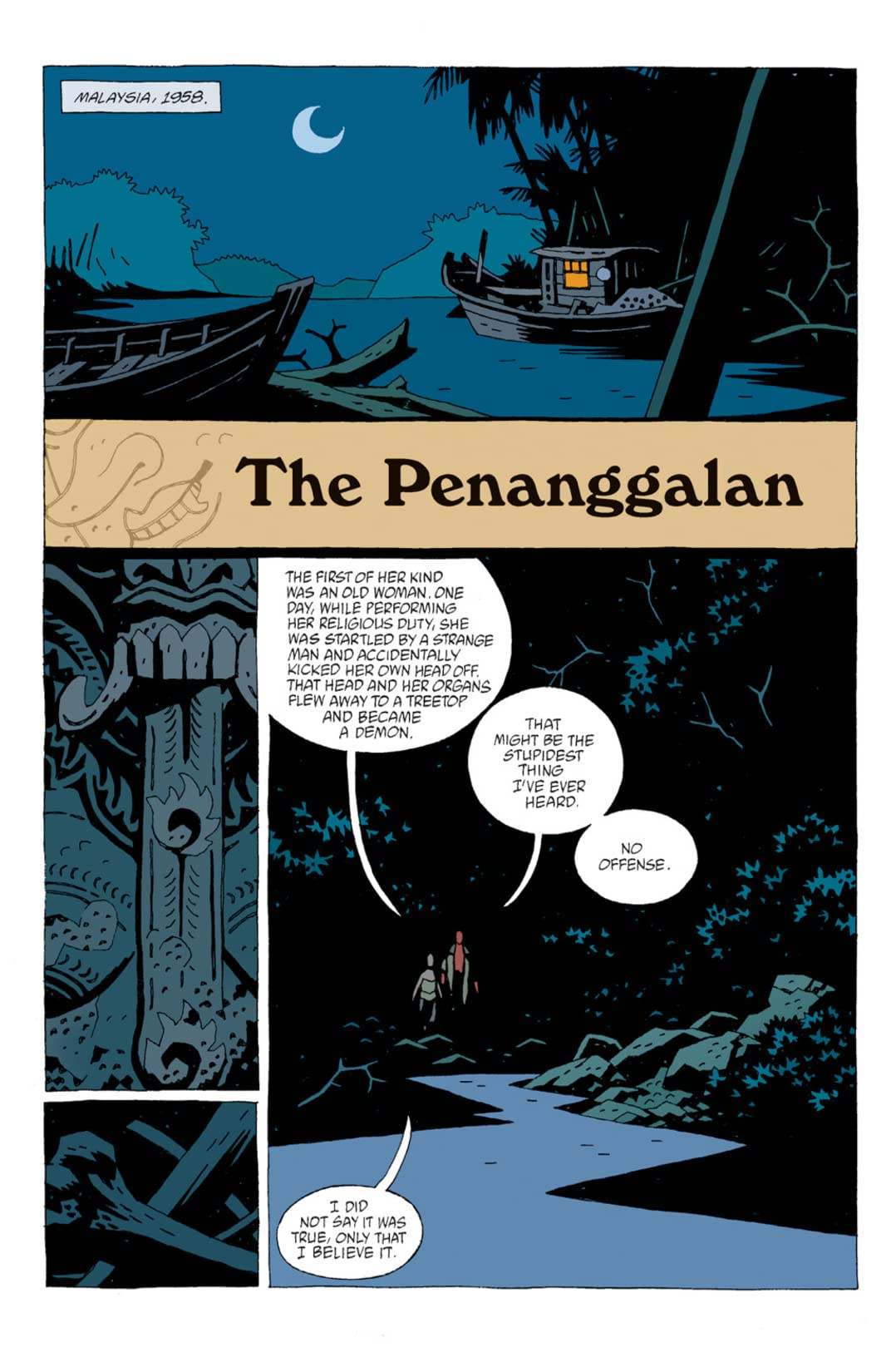 Hellboy: The Troll Witch, The Penanggalan, and The Hydra and the Lion #4