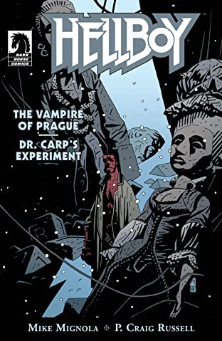 Hellboy: The Vampire of Prague and Dr. Carp's Experiment