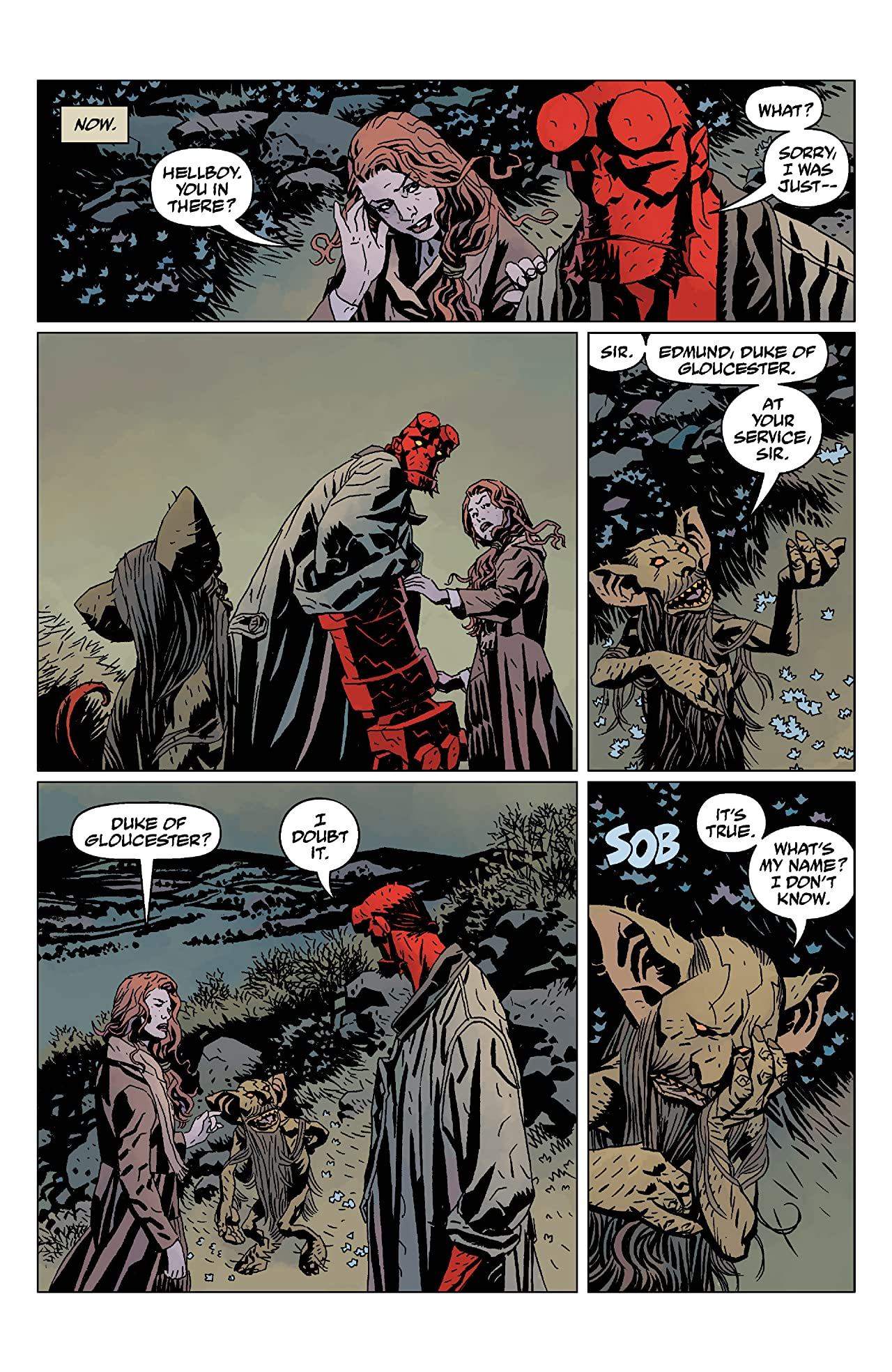 Hellboy: The Wild Hunt #4