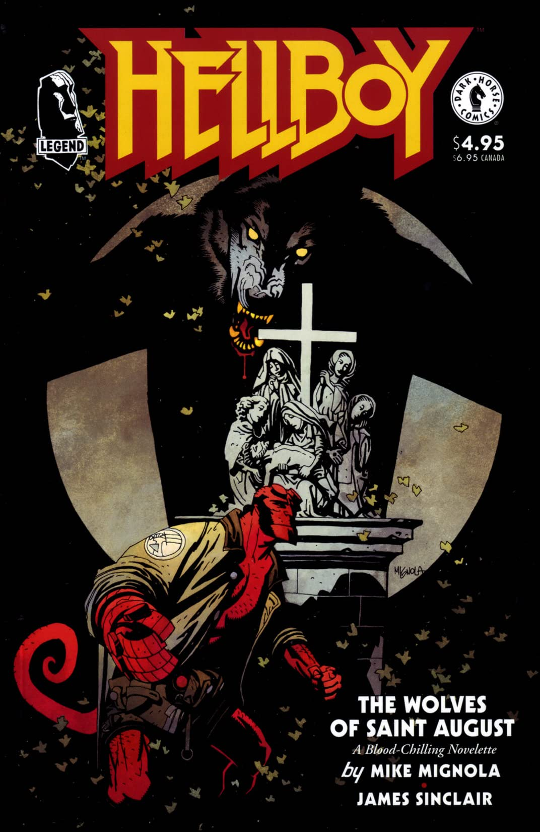 Hellboy: The Wolves of Saint August