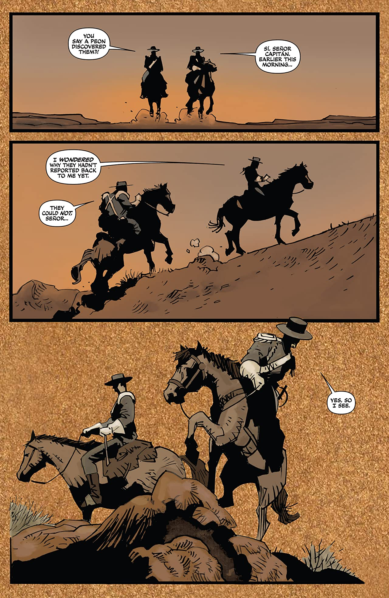 Zorro Rides Again #10 (of 12)