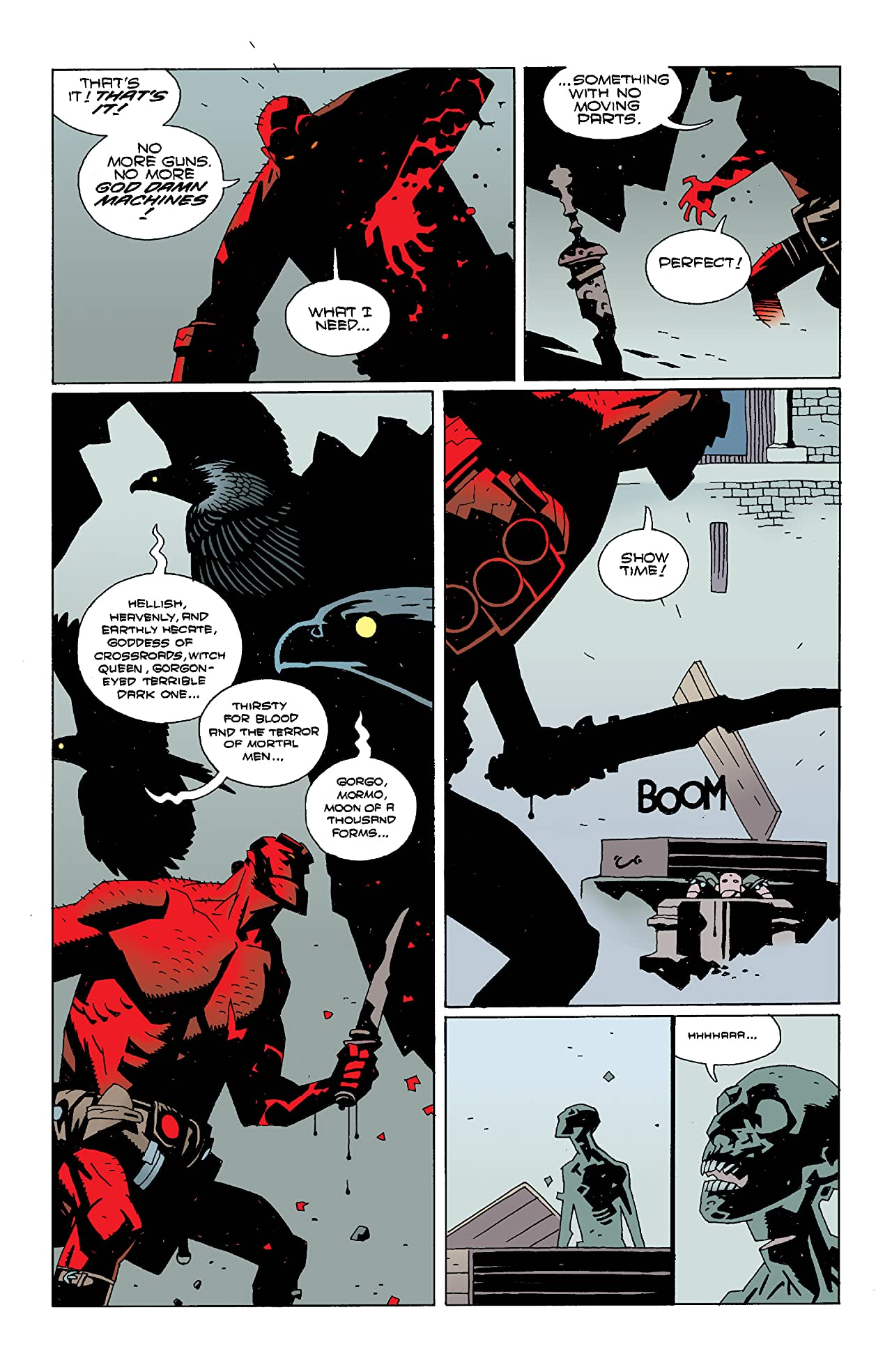 Hellboy: Wake the Devil #3