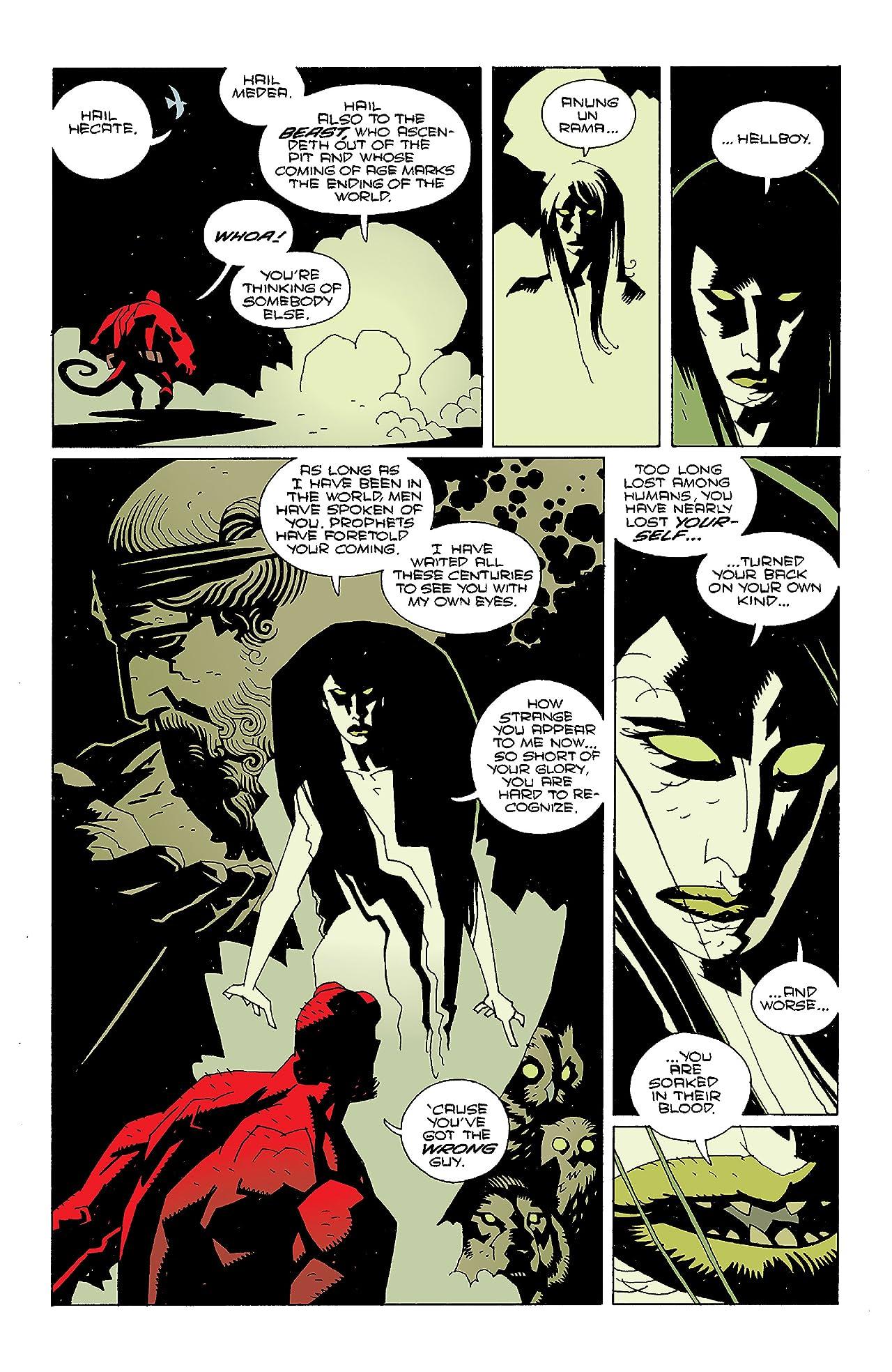 Hellboy: Wake the Devil #4
