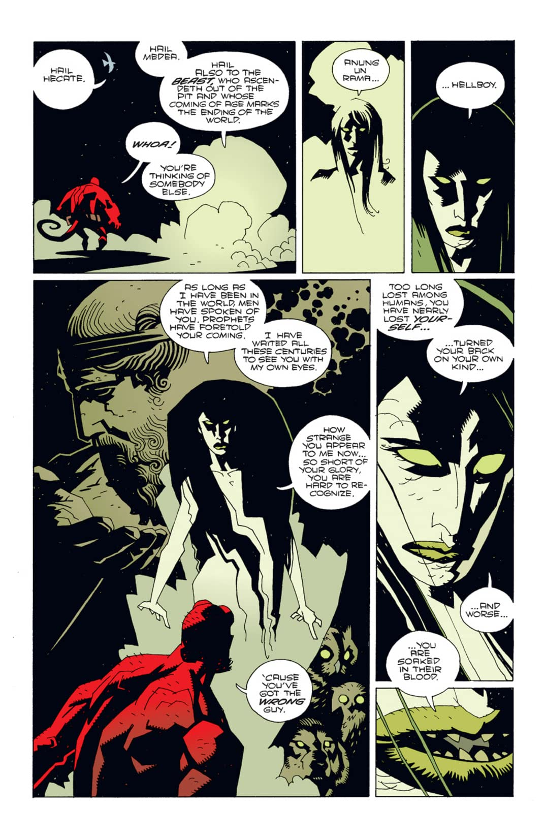 Hellboy: Wake the Devil #4