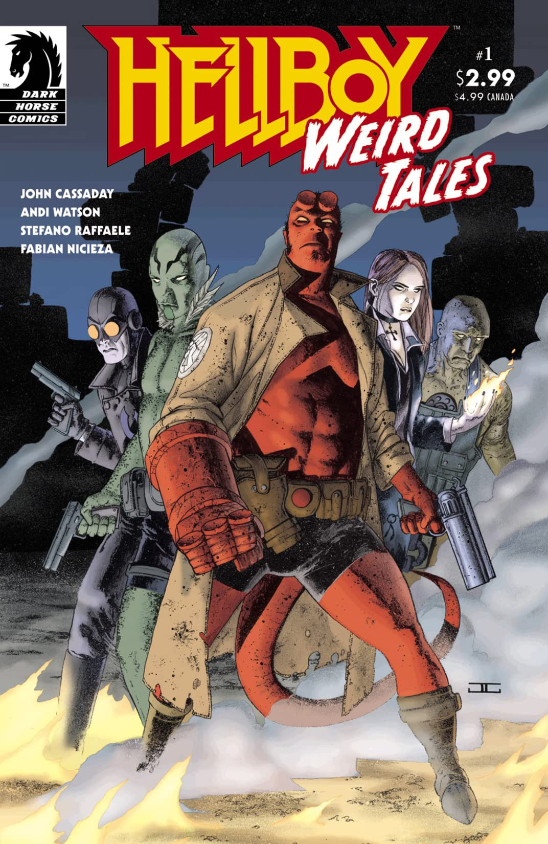 Hellboy: Weird Tales #1