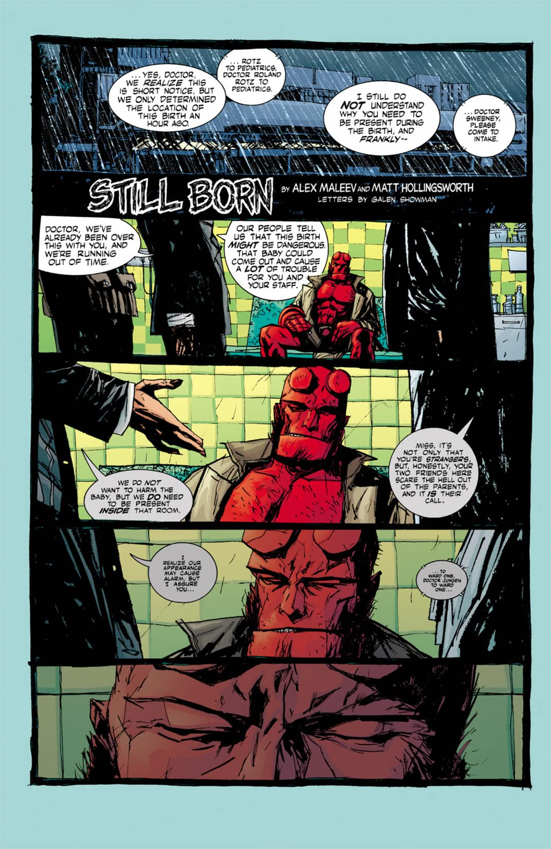 Hellboy: Weird Tales #3