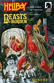 Hellboy/Beasts of Burden: Sacrifice #1