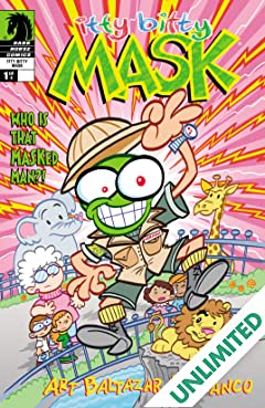 Itty Bitty Comics: The Mask #1