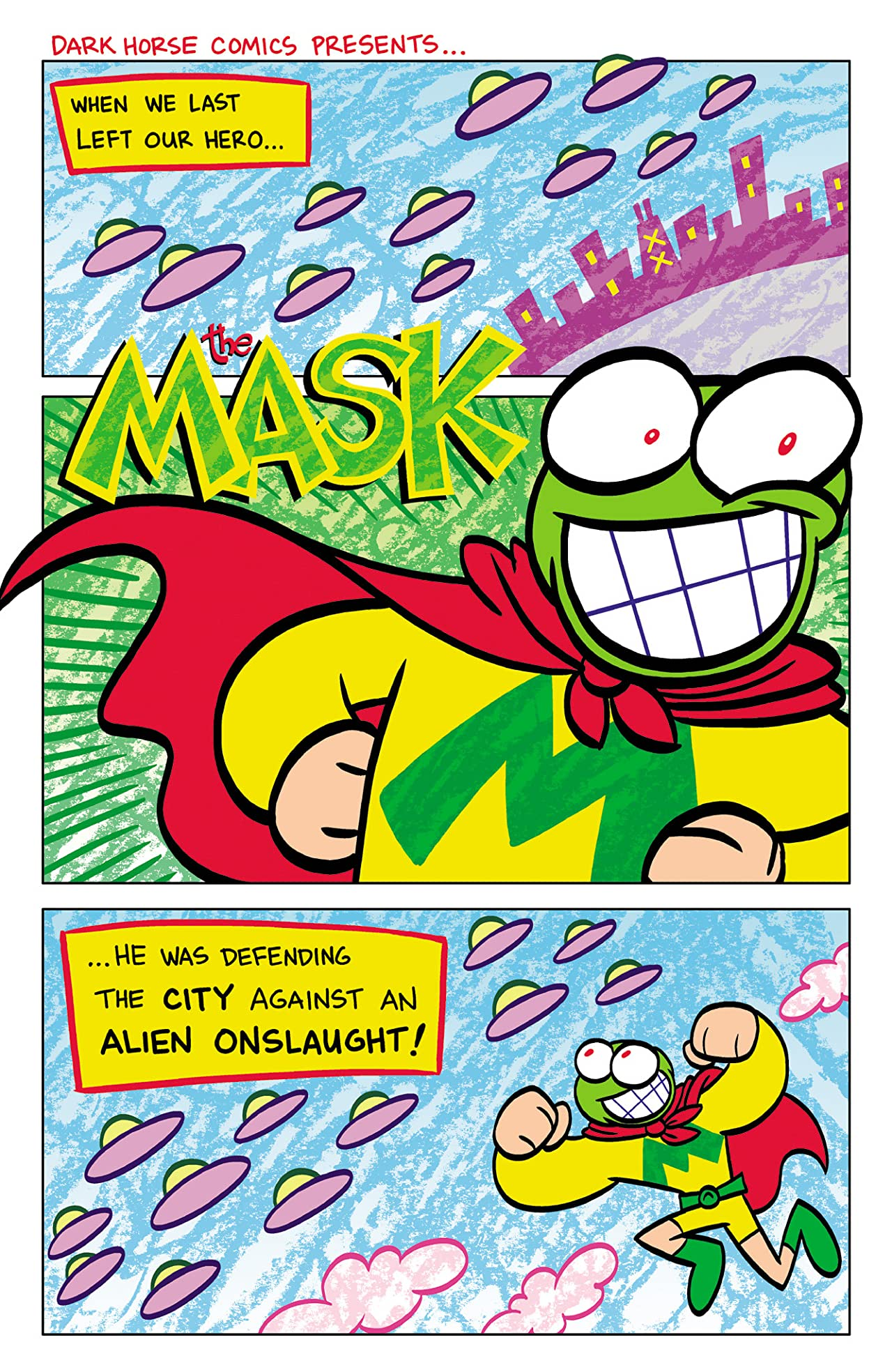 Itty Bitty Comics: The Mask #4