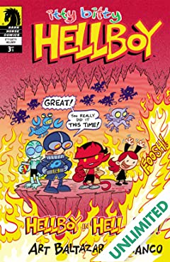 Itty Bitty Hellboy #3
