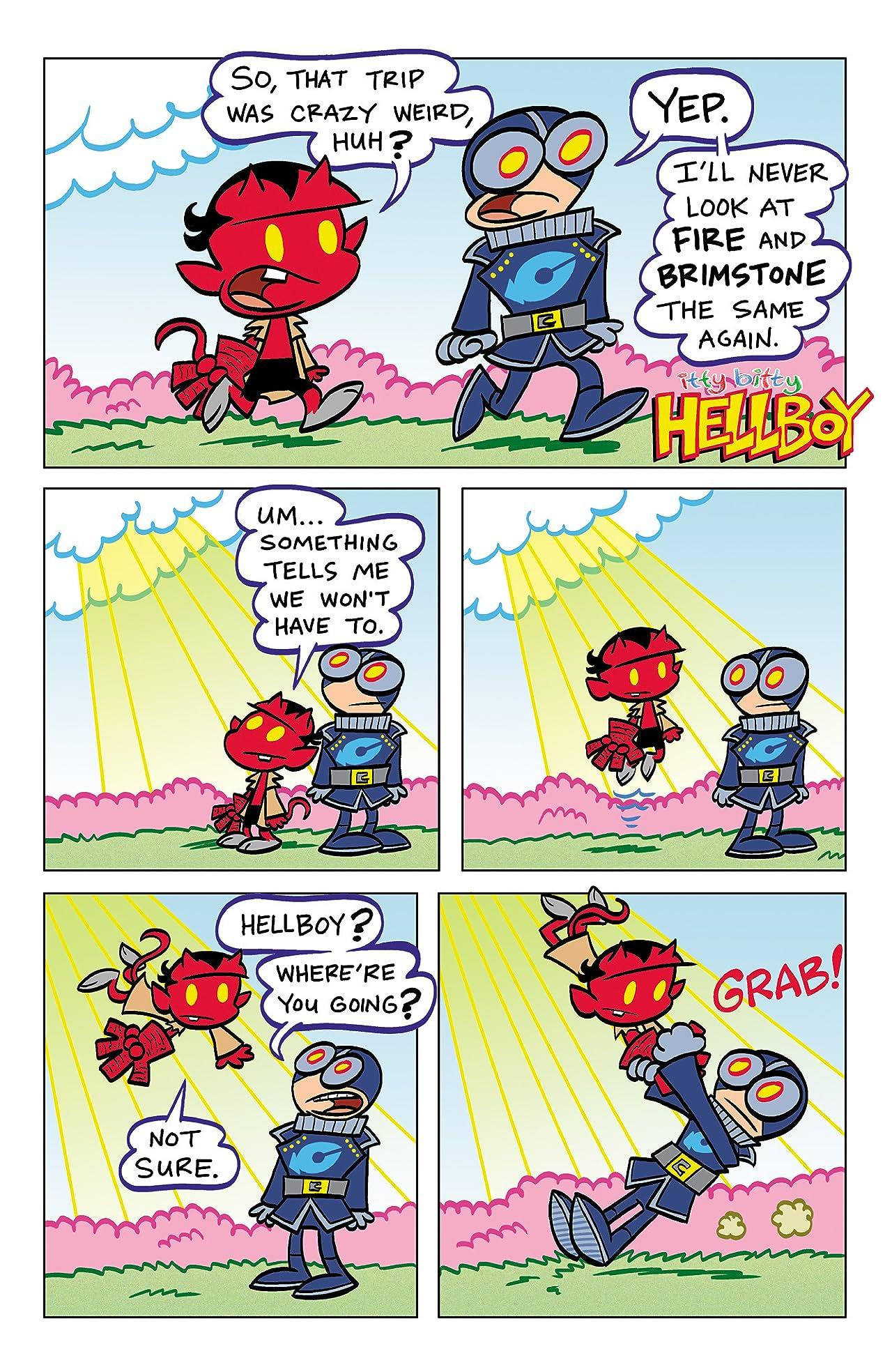 Itty Bitty Hellboy #4