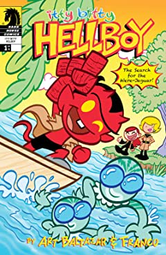 Itty Bitty Hellboy: The Search For the Were-Jaguar! #1