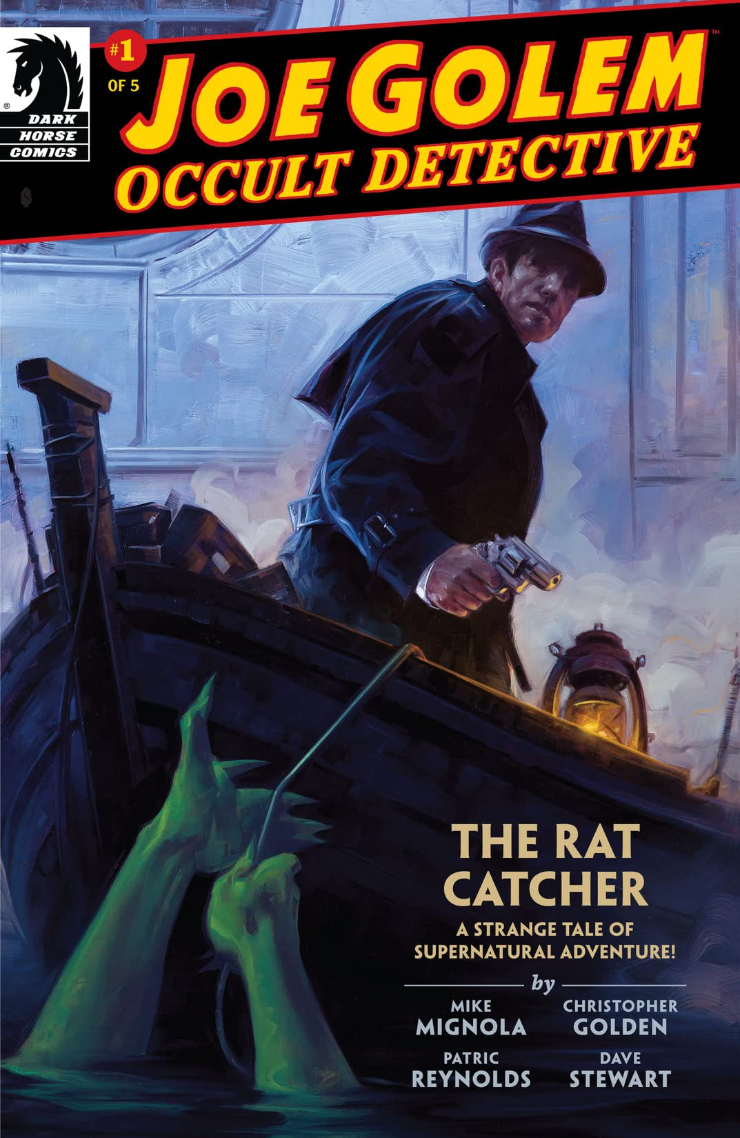 Joe Golem: Occult Detective #1