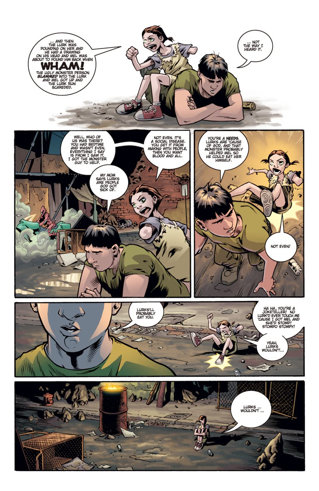 Joss Whedon's Fray #5