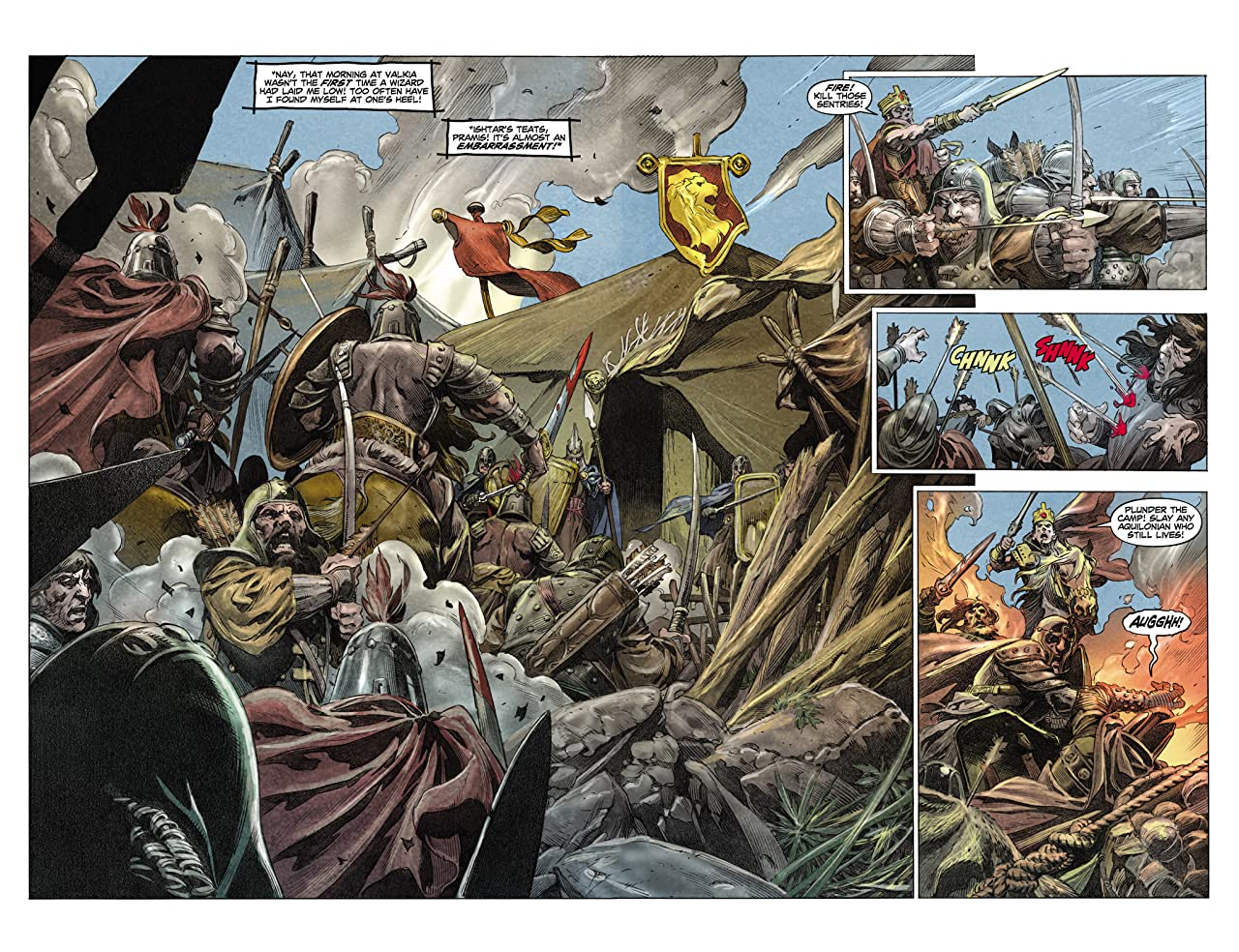 King Conan: Hour of the Dragon #2