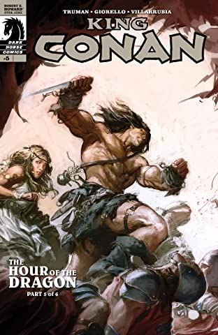 King Conan: Hour of the Dragon #5