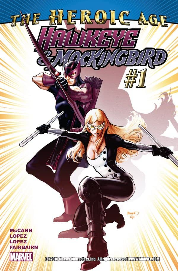 Hawkeye & Mockingbird #1
