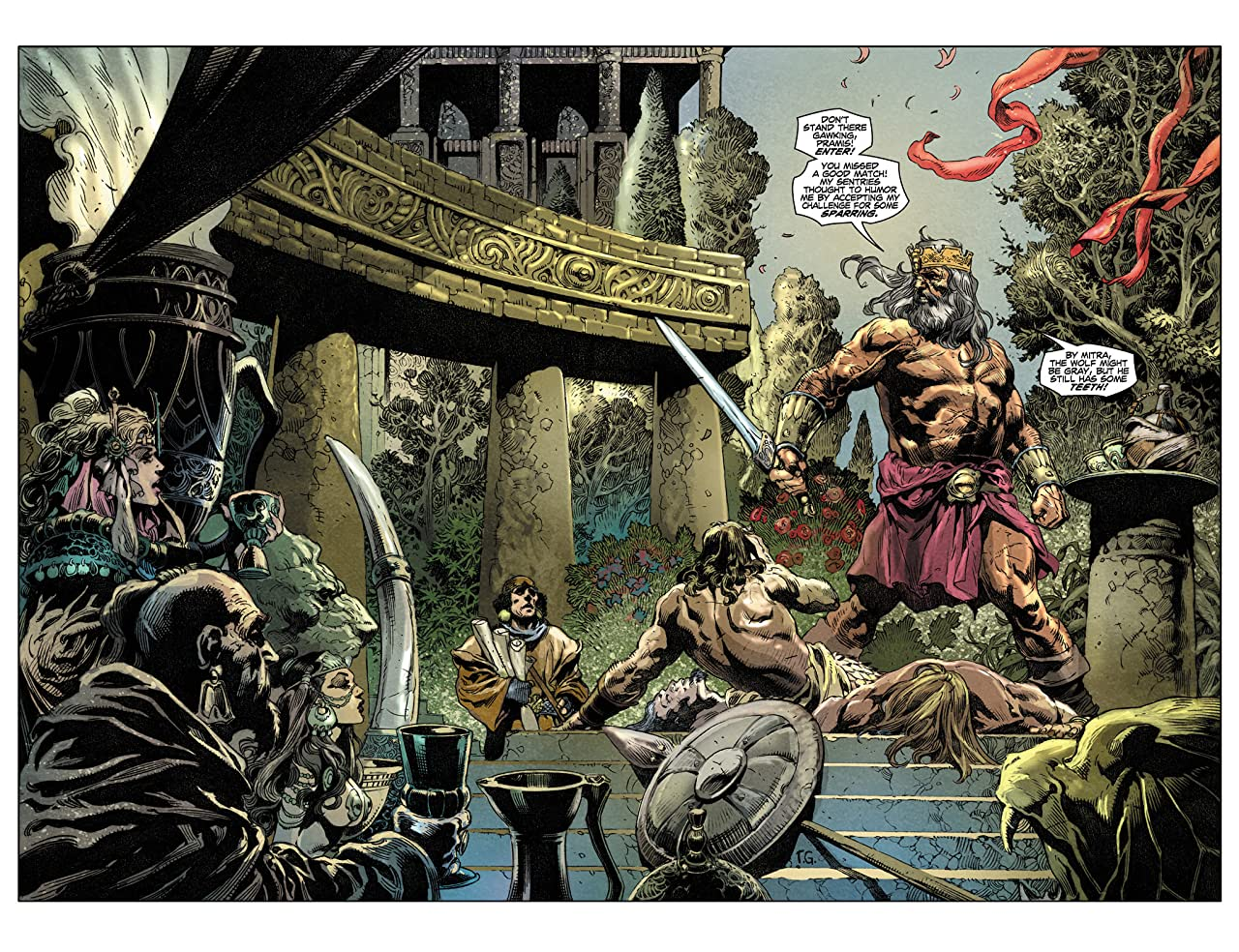 King Conan: The Phoenix on the Sword #1