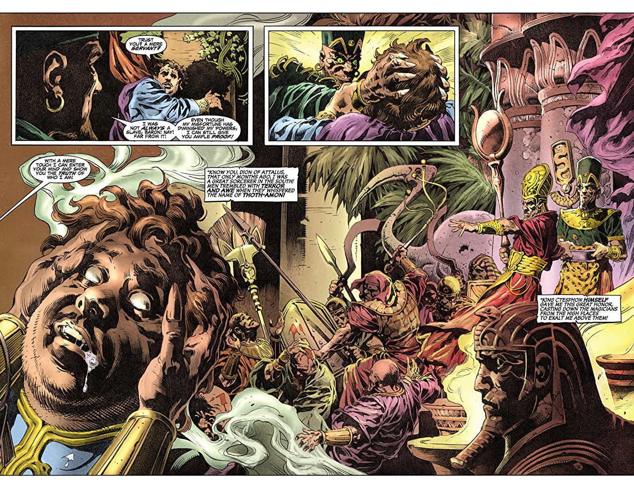 King Conan: The Phoenix on the Sword #2