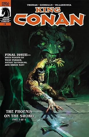 King Conan: The Phoenix on the Sword #4