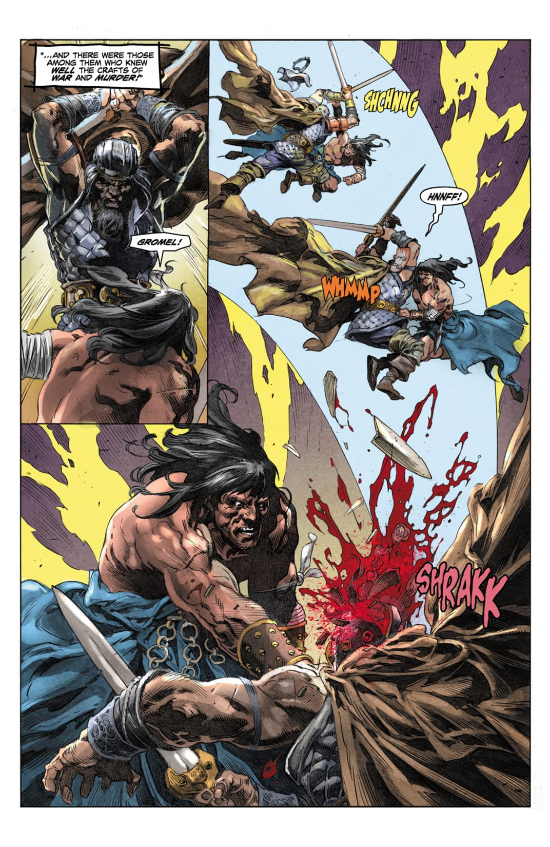 King Conan: The Phoenix on the Sword #4