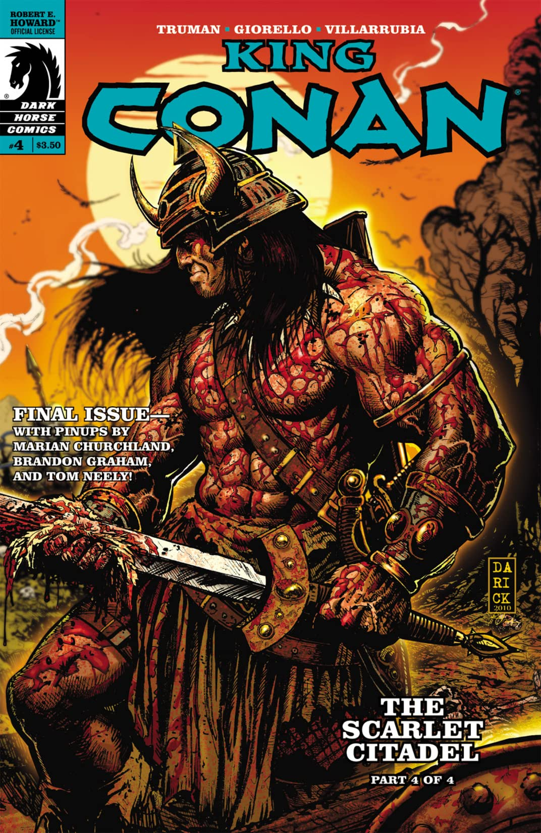 King Conan: The Scarlet Citadel #4