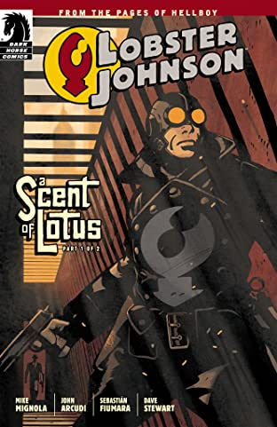 Lobster Johnson: A Scent of Lotus No.1