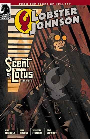 Lobster Johnson: A Scent of Lotus #1