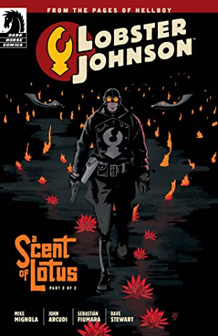 Lobster Johnson: A Scent of Lotus No.2