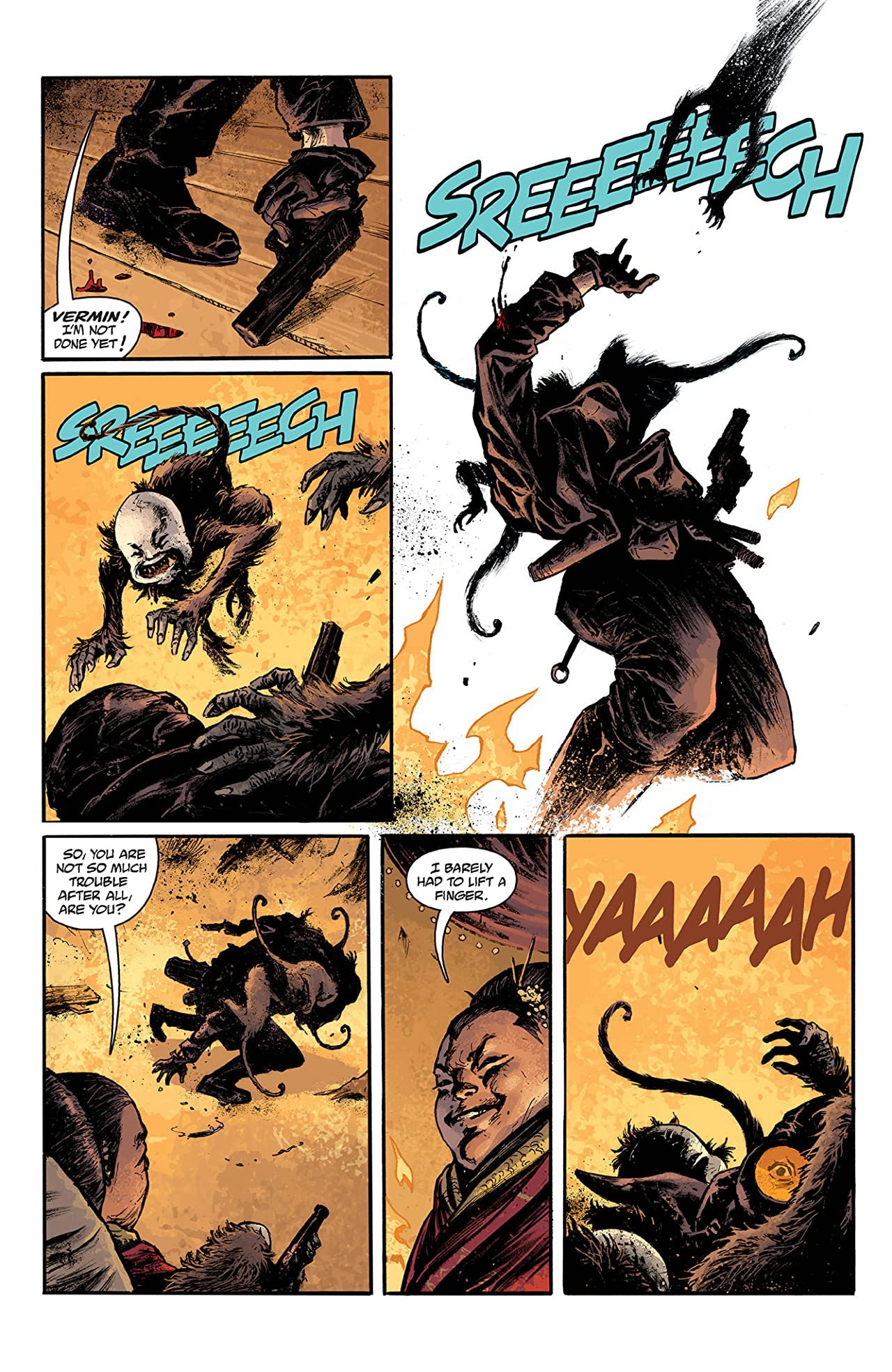 Lobster Johnson: A Scent of Lotus #2