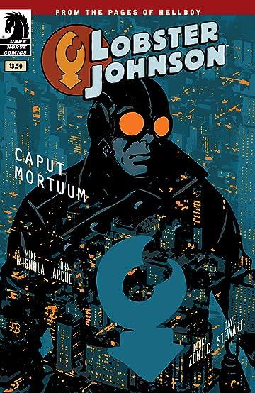 Lobster Johnson: Caput Mortuum #0