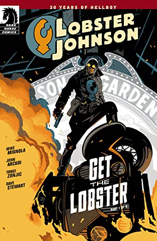 Lobster Johnson: Get the Lobster No.1