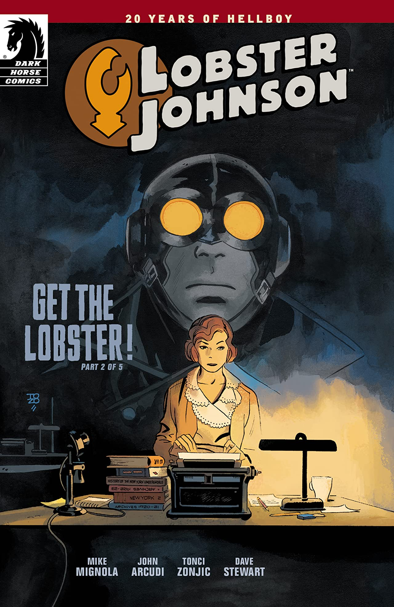 Lobster Johnson: Get the Lobster #2