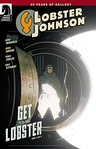 Lobster Johnson: Get the Lobster No.3